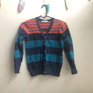 H&M boys cardigan size 8-10Y EUC